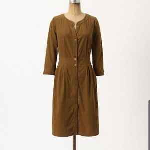 Anthropologie Maeve Anaheim Shirt Dress Size 6